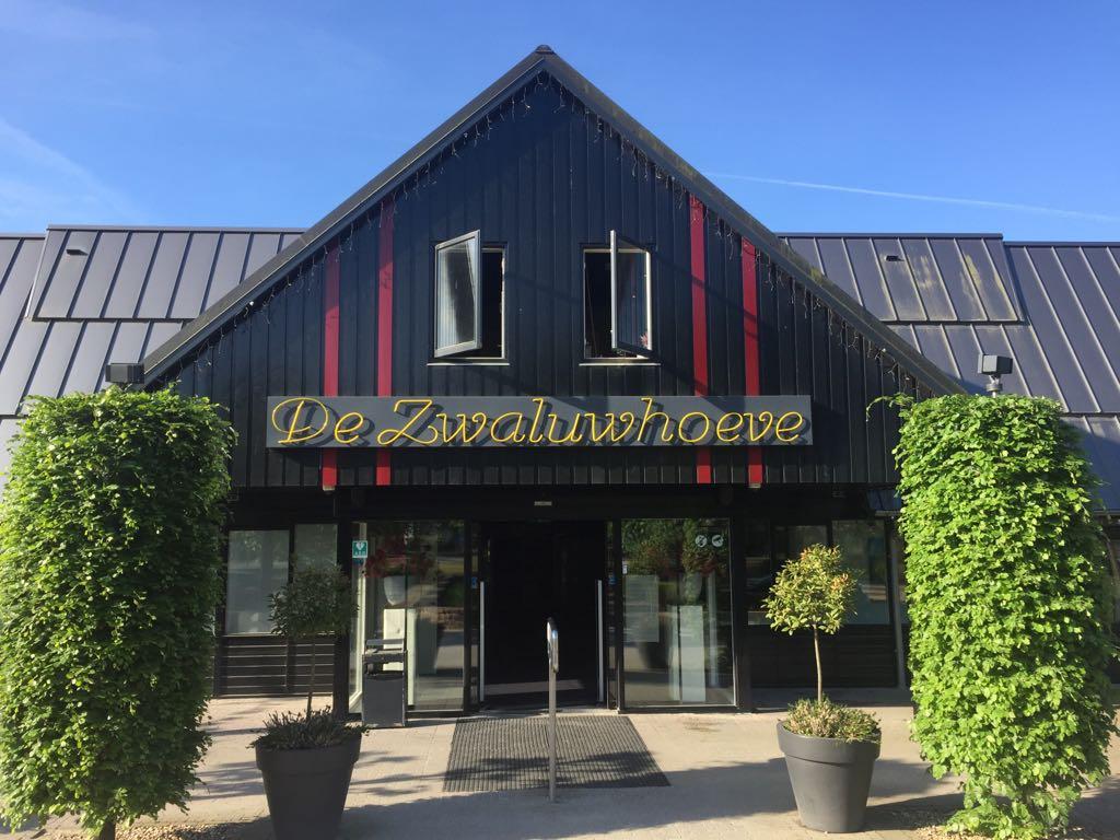 Entree wellnessresort De Zwaluwhoeve